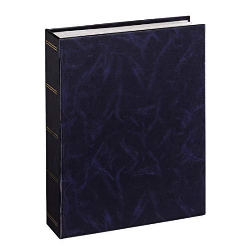 Hama Einsteckalbum Birmingham (geeignet für 100 Fotos im Format 13 x 18) blau -