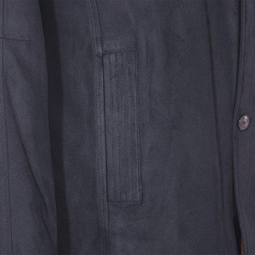 Bugatti Manteau homme grande taille Noir Noir