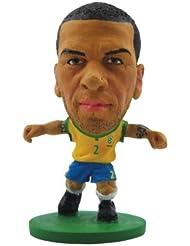 Soccerstarz - 77009 - Figurine - Sport - Equipe De Brésil - Dani Alves