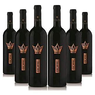 Vin-d-Thoas-6-x-750ml-Bio-edel-Rotwein-halbs-Sortenrein-Capernet-Sauvignon-Limnio-Aus-kontrolliert-biologischem-Landbau-auf-vulkanischem-Boden-Naturreiner-Restse-Premium-Qualitt