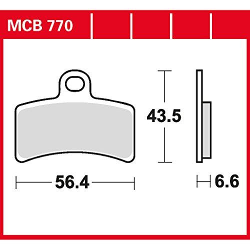 plaquette de freins Lucas MCB770 pour Gas Gas EC 50 Boy | Gas Gas EC 50 Rookie | Gas Gas MC 65