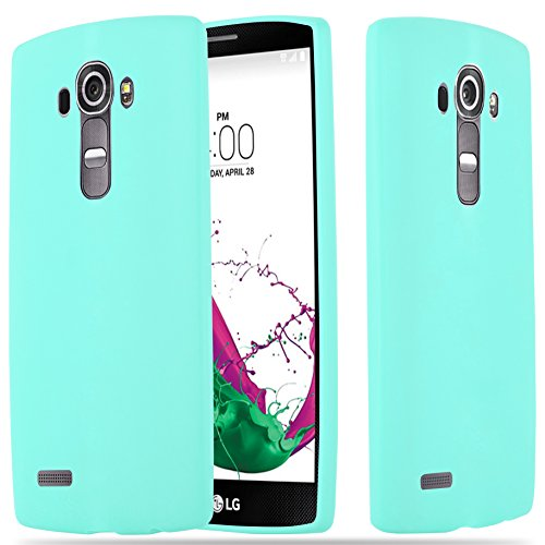 LG G4 Silikon-Hülle in CANDY BLAU von Cadorabo - Ultra Dünn Slim Design TPU Schutz-hülle – Handy-hülle Bumper Back Case Cover