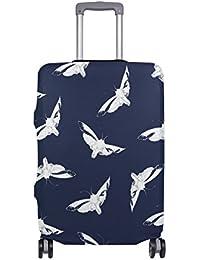 Preisvergleich für COOSUN Schmetterlings-Druck-Reise-Gepäck Schutzabdeckungen Waschbar Spandex Gepäck Koffer Cover - Passend für...