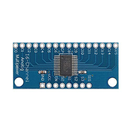 16-Kanal-Analog-Digital-MUX-Breakout-Board-Multiplexer CD74HC4067 Präzises Modul Arduino High-Speed-CMOS Cmos-analog-multiplexer