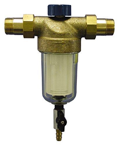 Sanitop-Wingenroth 143264Casa filtro de agua Alfi rückspülbar con 2roscas exteriores, 1pulgadas