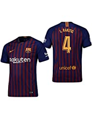 220353eb477f0 F.C. Barcelona Trikot 2018-2019 Home - Camiseta de Rakitic 4 para Hombre