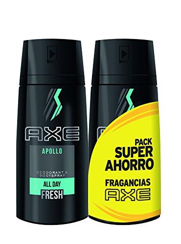 AXE Desodorante Apollo Duplo Ahorro - 2 Paquetes de 2 x 150 ml: Total: 600 ml