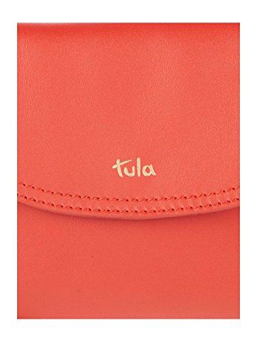 Tula, Borsa a tracolla donna nero Black Medium Red