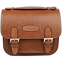 Gearmax® Retro PU Classic Leather Camera Bag Custodia con tracolla per Fujifilm Instax mini7/ 7s/ 8/ 20/ 25/ '50/ 55/ 90 telecamere(Marrone)