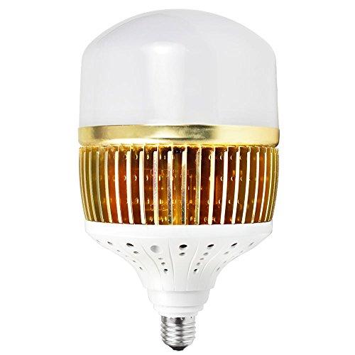 DASKOO CL-Q100W Hohen Lumen E27 100W = 800W LED Globus Lampe Aluminium-Fin + PC Abdeckung Kaltweiß 13000LM AC 85-265V