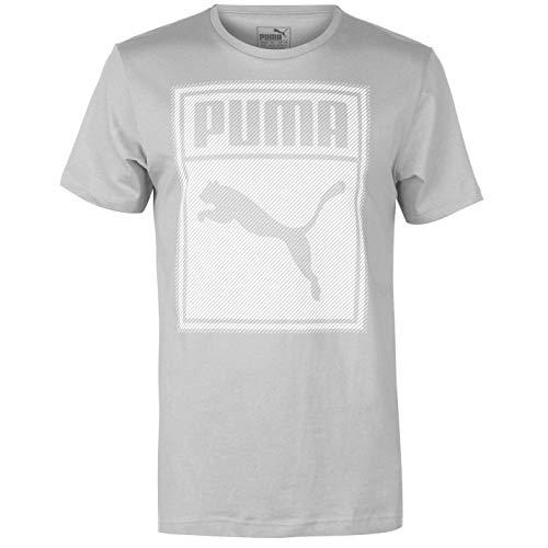 PUMA Herren Box QT T Shirt Rundhals Kurzarm Baumwolle