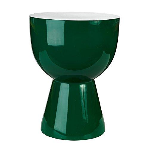 Hocker Tam Tam Smaragdgrün - pols potten, Hocker, Stuhl, Design, Designhocker, extravagant, Dekoration, Möbelstück, Sitzgelegenheit, ausgefallen, modern, stylish, Stil, Tisch