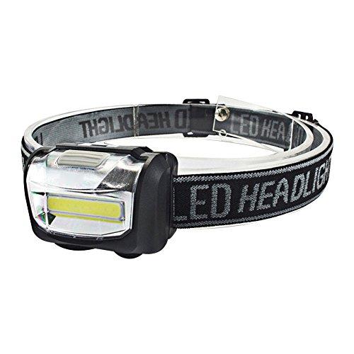 KHXYP LED Stirnlampe LED Kopflampe COB LED Scheinwerfer Taschenlampe 3xAAA Batterie Taschenlampe Camping Wandern Angeln Licht Zoomable Scheinwerfer Stirnlampen