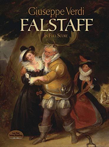 Falstaff (In Full Score): Partitur für Orchester (Dover Vocal Scores)