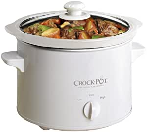 Crock-Pot Slow Cooker, 2.4 Litre - White