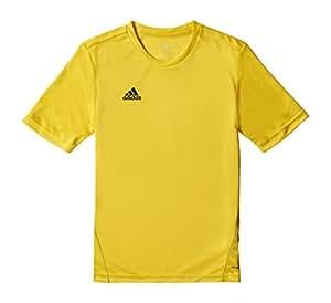 adidas Kinder Trikot/Teamtrikot Coref training js y, gelb/schwarz, 116, S22403