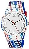 Swatch Unisex Erwachsene Analog Quarz Uhr mit Silikon Armband SUOZ258C