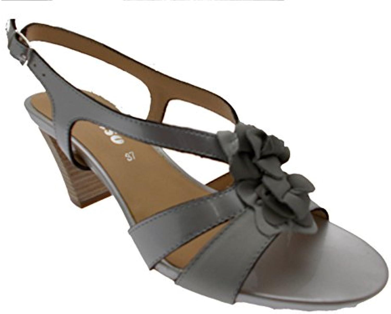 Sandalo donna grigio ghiaccio ghiaccio ghiaccio art K95113 39 grigio | Vari disegni attuali  | Scolaro/Signora Scarpa  3585ca