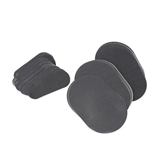 perfk Kit Disques d'Epilation Enlèvement Tampons Exfoliants Set pour Bras Visage Jambes Peau du Corps