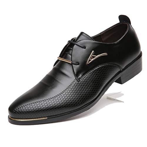 Männer Formale Schuhe lässige Kleid Grund Leder Tuch Spitz Spitze schöne männliche Geschäfts Schuhe - Wildleder Deck Shoes
