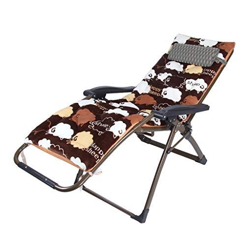 ZZSJC HOME Schwerlast-Schwerelosigkeitsstühle, Strandstühle, Liegestühle, Freizeitstühle, klappbarer Liegestuhl, Strandterrasse, Gartencamping, Liegestühle, Superbreite 68 cm (Color : 1)
