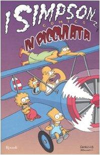 In picchiata. I Simpson