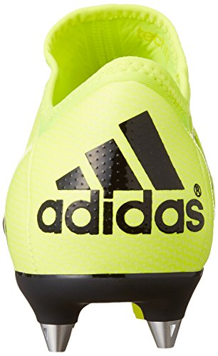 adidas X 15.1 Soft Ground, Chaussures de Football homme Jaune - Gelb (Solar Yellow/Solar Yellow/Core Black)