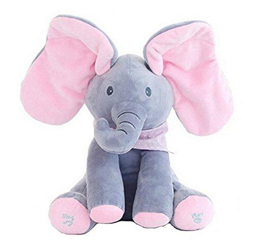 KidsT.C(TM) Electronic Music Elephant Soft Dolls Juguetes / Animal Elephant Almohadas /...