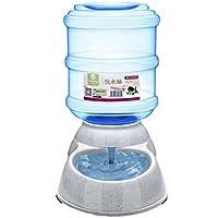 ED-Lumos Alimentador Automático para Mascotas Perro Gato Dispensador de Agua Bomedero Plástico alimentario 3.5