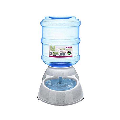 ED-Lumos Alimentador Automático para Mascotas Perro Gato Dispensador de Agua Bebedero Plástico alimentario 3.5L