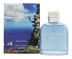 DG Light Blue Beauty Of Capari by DOLCE GABBANA 4.2oz/125ml Edt Spray for Men