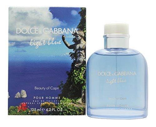 D&G Light Blue Beauty In Capri Eau de Toilette Vaporisateur 125 ml
