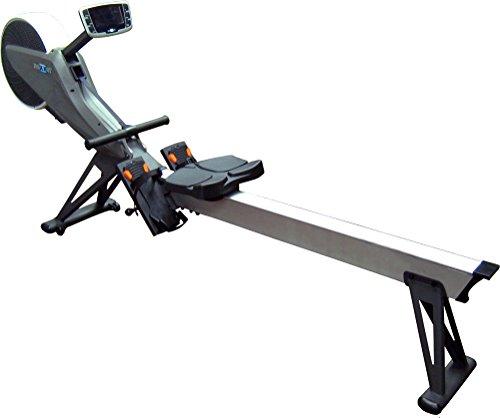 Maxxus Erwachsene Ruderergometer 10.0 Rudergerät, Grau/Weiß, 2.460 x 450 x 1.082 mm
