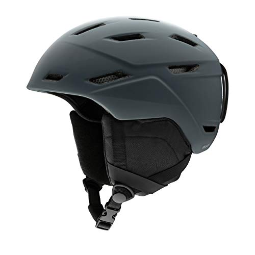 SMITH (SMIZD) Unisex- Erwachsene Mission Helm mit Koroyd, Matte Charcoal, M /55-59