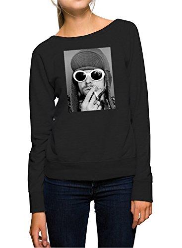 Black Gun Pepper (Kurt Smoking Sweater Girls Black Certified Freak-XL)