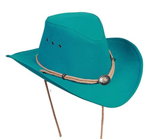 Kakadu Traders Australia - Sombrero Cowboy - para Hombre Turquesa XL 24d3514f564