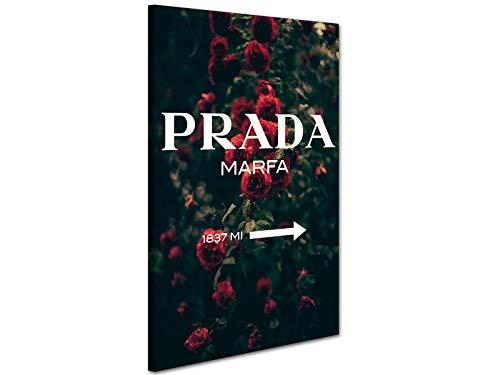 Kuader Prada Marfa Gossip Girl Rosengarten Prada Bild Druck Auf Leinwand Für Den Innenausbau Prv18, 50x70 cm
