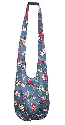 NiNE CiF Borsa da spiaggia, floral 1055 (multicolore) - 026# floral 1214