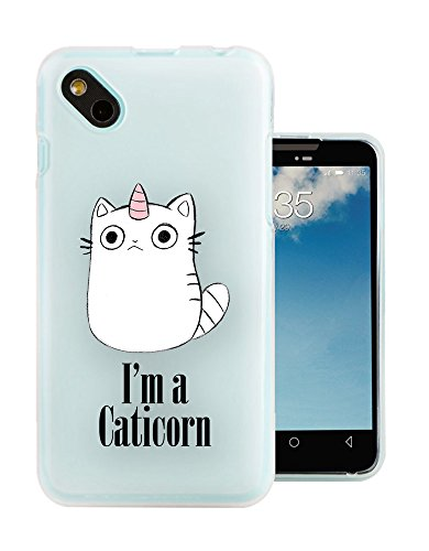 c1032-Cool-Cute-Caticorn-Pet-Unicorn-kitten-Cat-Whimsical-Design-Wiko-Sunny-Wiko-B-Kool-Fashion-Trend-Protecteur-Coque-Gel-Rubber-Silicone-protection-Case-Coque