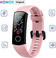 "Honor Band 5 Reloj Inteligente 0.95"" Gran Pantalla a Todo Color AMOLED Fitness Pulsera Inteligente Monitoreo Inteligente..."
