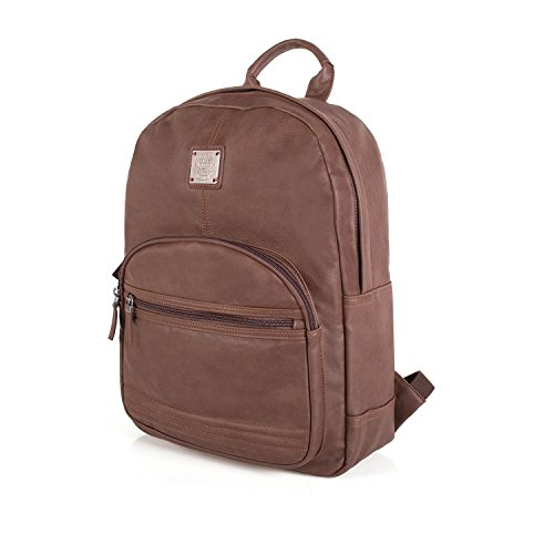 LOIS - 45836 MOCHILA POLIPIEL NEW LEGEND, Color Marron