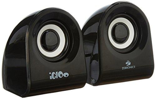 Zebronics Igloo 2.0 Channel Multimedia Speakers (Black)