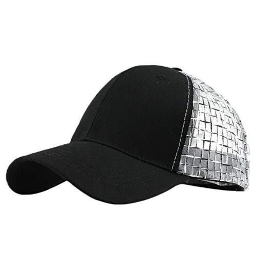 Bomber Classic Hut (DWQuee Unisex Cotton Baseball Cap Hüte, Damen Herren Classic Einstellbare Half Mesh Trucker Baseball Caps Papa Hut Strapback Cap)