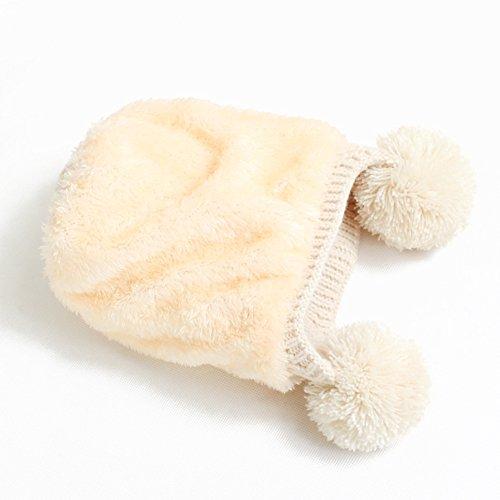 Winter Wolle Gestrickte Hüte Schals Kapuze Mönchskutte Beanie Mützen für Kinder Junge Baby Mädchen Schalmütze Mütze Wolleschal warme Earflap Fox cap Pattern 13