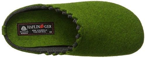 Haflinger - Everest Lotta, Pantofole Donna Grün (Grasgrün)