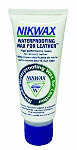 Nikwax Waterproof Wax for Leather - White, 60 ml
