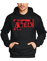 Coole-Fun-T-Shirts Herren Sweatshirt A-TEAM - HOODIE