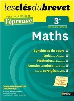 Cls du Brevet - Maths 3e - Russir l'preuve de Sylvie Géneau ( 31 juillet 2012 )