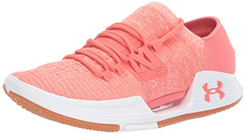 Under Armour Speedform Amp 3.0, Zapatillas Deportivas para Interior para Mujer, Naranja White/COHO 601, 42.5 EU