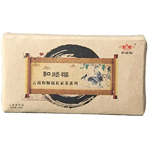 SaySure - 100g made in 2013 Spring Raw\Sheng YunNan Chinese puer tea\pu erh tea